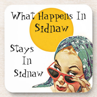 Coaster Retro Secret What Happens In Sidnaw Stays