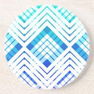 Coaster revisté Tartan - blue