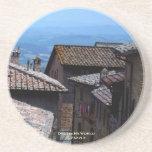 Coaster - Rooftops over San Gimignano