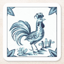 Coaster rooster