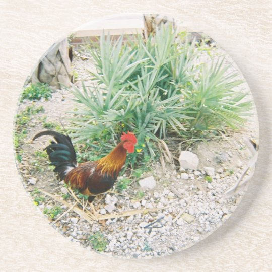 Coaster_Rooster Drink Coaster