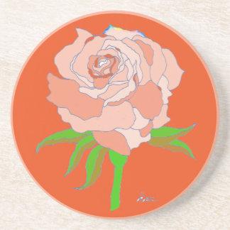 Coaster - Rose in Orange Tones