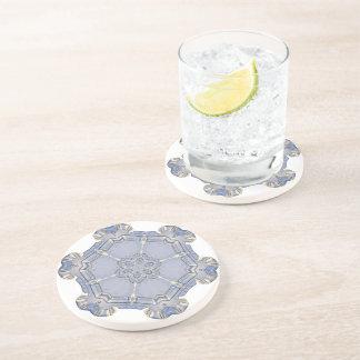 Coaster - Sandstone - Digital Snowflake 1