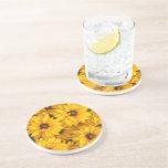 Coaster - Sandstone - Gloriosa Daisies