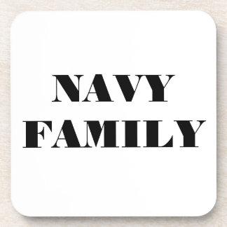 Coaster Set Navy Family