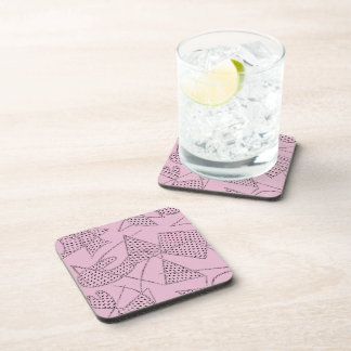 Coaster Set Of 6 : ATOMIC BOOMERANG - PINK FLOYD