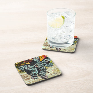 "Coaster/Set of 6 ""Grape Clusters In Vineyard"" Drink Coaster"