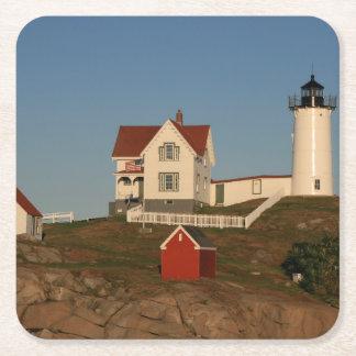 Coaster set of 6 Maine Lighthouse