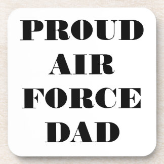 Coaster Set Proud Air Force Dad