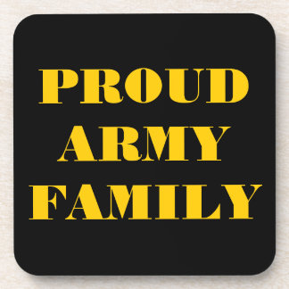Coaster Set Proud Army Family