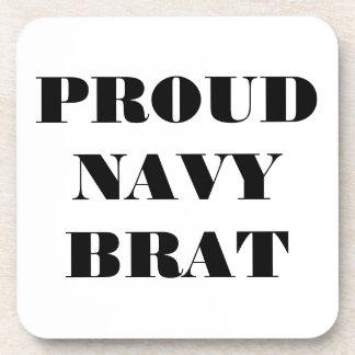 Coaster Set Proud Navy Brat
