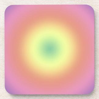 Coaster Set - Rainbow Circles