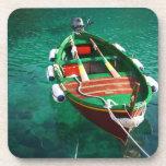 coaster set row boat