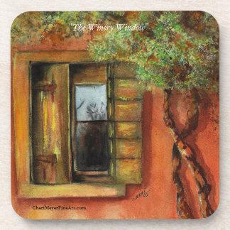 Coaster Set - The Winery Window