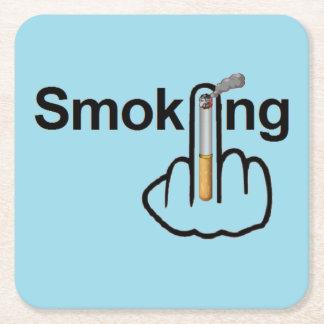 Coaster Smoking Flip Square Paper Coaster