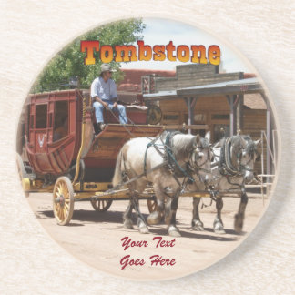 Coaster: Stagecoach Ride #2 Drink Coasters