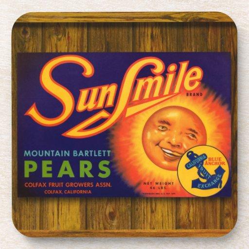 Coaster - Sun Smile Pears