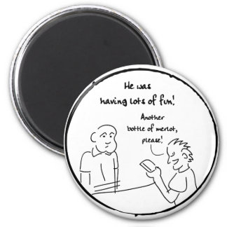 Coaster Tale 2 2 Inch Round Magnet