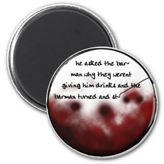Coaster Tale 4 2 Inch Round Magnet