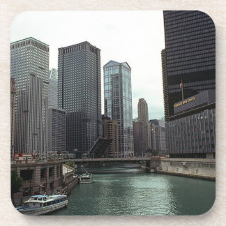Coaster Vintage Old Chicago Sun Times Building