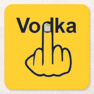 Coaster Vodka Flip