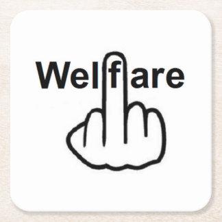 Coaster Welfare Flip Square Paper Coaster