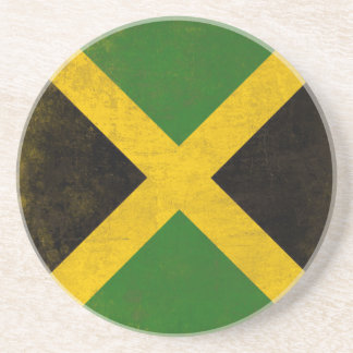 Coaster with Dirty Flag from Jamaica