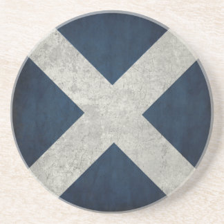 Coaster with Dirty Flag from Scotland