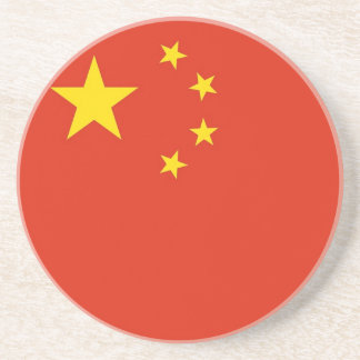 Coaster with Flag of China