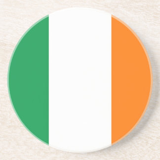 Coaster with Flag of Ireland