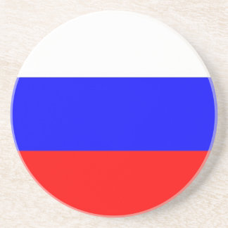 Coaster with Flag of Russia