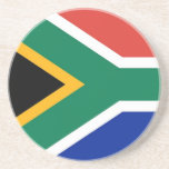Coaster with Flag of South Africa