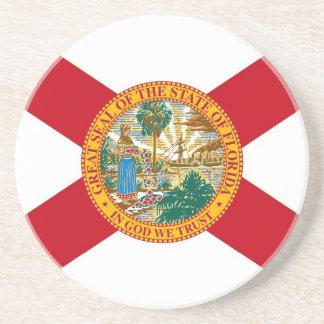 Coaster with Flag of the Florida, USA
