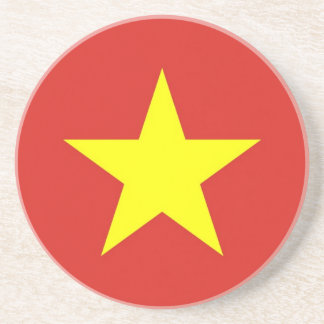 Coaster with Flag of Vietnam