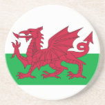 Coaster with Flag of Wales