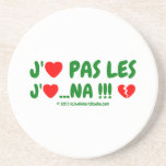 j' [Love heart] pas les j' [Love heart] ...na !!! [Broken heart]  j' [Love heart] pas les j' [Love heart] ...na !!! [Broken heart]  Coasters