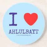 i [Love heart]  ahlulbayt i [Love heart]  ahlulbayt Coasters