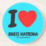 i [Love heart]  bhess katrina i [Love heart]  bhess katrina Coasters
