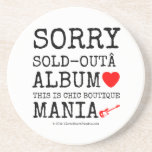 sorry sold-out album [Love heart]  this is chic boutique mania [Electric guitar]   sorry sold-out album [Love heart]  this is chic boutique mania [Electric guitar]   Coasters