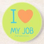 i [Love heart]  my job i [Love heart]  my job Coasters