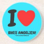 i [Love heart]  bhess angelica! i [Love heart]  bhess angelica! Coasters