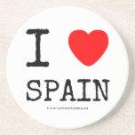 i [Love heart]  spain i [Love heart]  spain Coasters