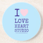 i [Love heart]  love heart studio i [Love heart]  love heart studio Coasters