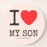 i [Love heart]  my son i [Love heart]  my son Coasters