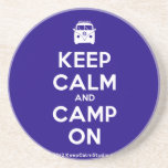 [Campervan] keep calm and camp on  Coasters
