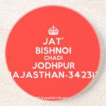 [Crown] jat' bishnoi chadi jodhpur rajasthan-342312  Coasters
