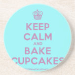 [Cupcake] keep calm and bake cupcakes  Coasters