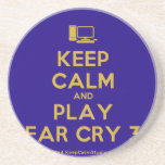 [Computer] keep calm and play far cry 3  Coasters