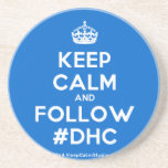 [Crown] keep calm and follow #dhc  Coasters