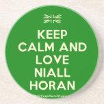 [UK Flag] keep calm and love niall horan  Coasters